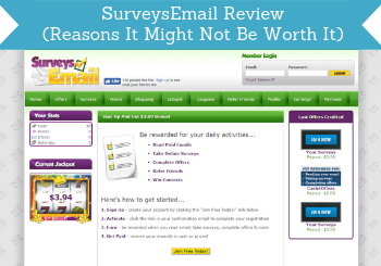 SurveysEmail Review (5 Reasons It Might Not Be Worth It)