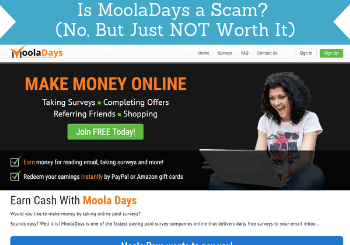 is mooladays a scam review header