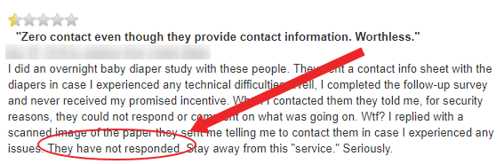 mindfield support complaint