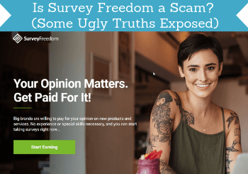 is survey freedom a scam review header