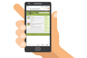 mobile with fusioncash website