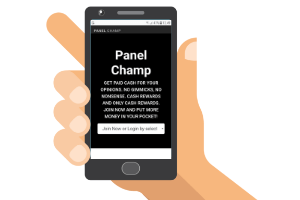 mobile with panel champ website