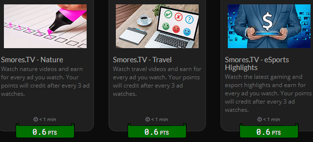 rewards1 video options