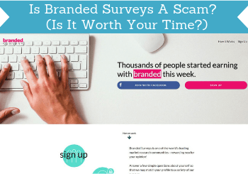 Is Branded Surveys a scam review header