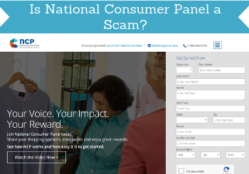 is national consumer panel a scam review header