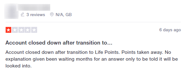 lifepoints review on trustpilot
