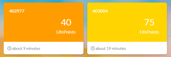 lifepoints surveys examples