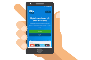 mobile with earnably website