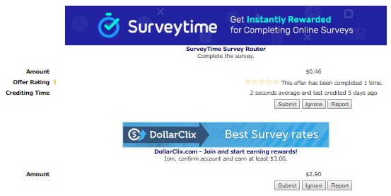 plenty benjis daily surveys