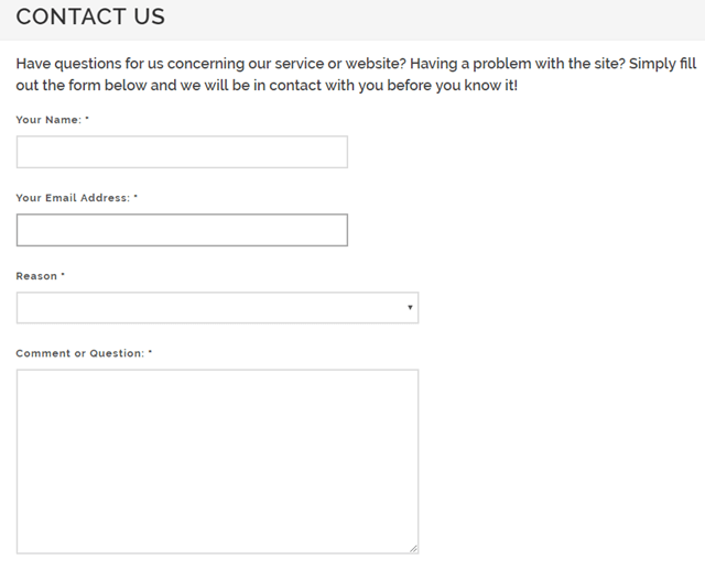 american consumer opinion contact form