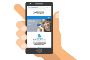 clickperks mobile site