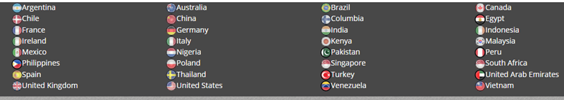 ipoll qualified countries