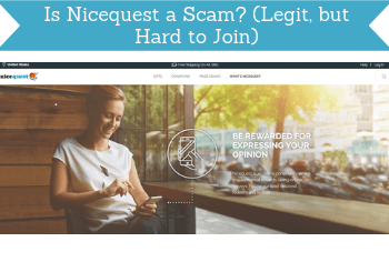is nicequest a scam review header