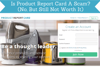Is Product Report Card A Scam? (No, But Still Not Worth It)