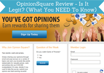 OpinionSquare Review – Is It Legit? (What You NEED To Know)