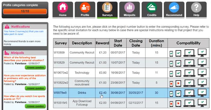 panelbase paid surveys