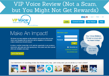 VIP Voice Review (Not a Scam, but You  Might Not Get Rewards)