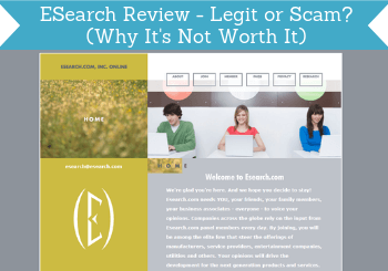 ESearch Review – Legit or Scam? (Why It's Not Worth It)
