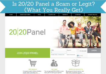 is 2020 panel a scam header