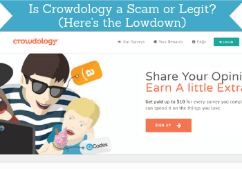is crowdology a scam header