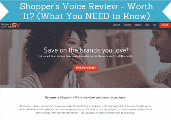 shoppers voice review header