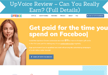 upvoice review header