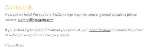 bzzagent contact page