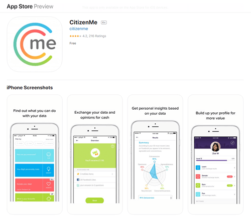 citizenme mobile app