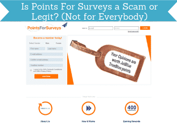is points for surveys a scam header