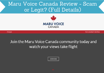 maru voice canada review header