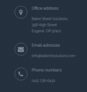 baker street solutions contact information