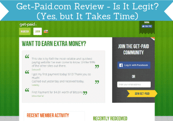 get paid review header
