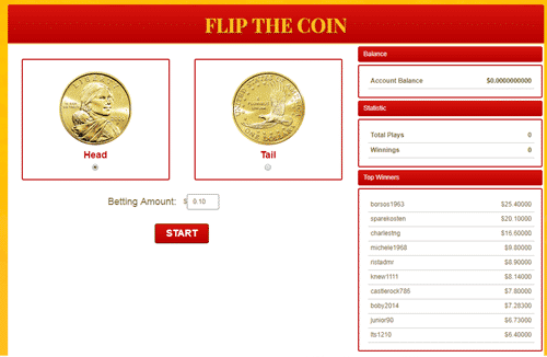 goldenclix flip the coin