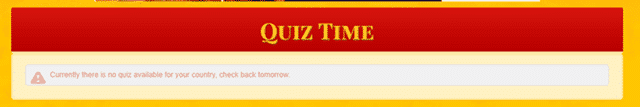 goldenclix quiz time