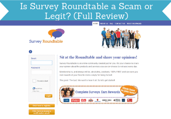 is survey roundtable a scam header