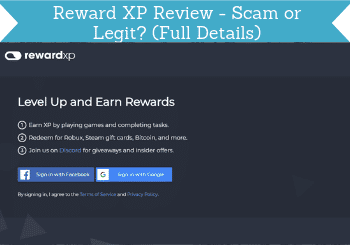 reward xp review header
