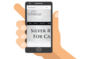 silverclix mobile site