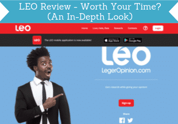 LEO review header