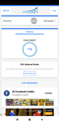 appdown referral upgrade