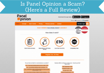 is panel opinion a scam header