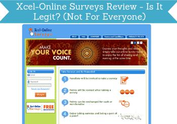 xcel online surveys review header