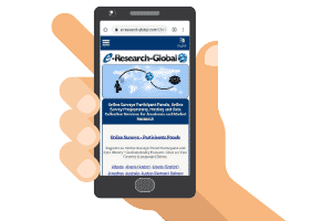 e-research global mobile site