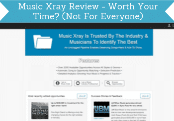 music xray review header