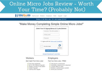 online micro jobs review header