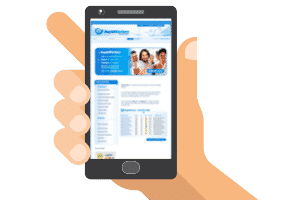 rapidworkers mobile site