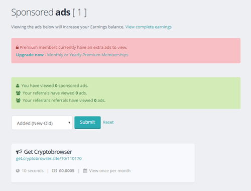 you cubez view ads