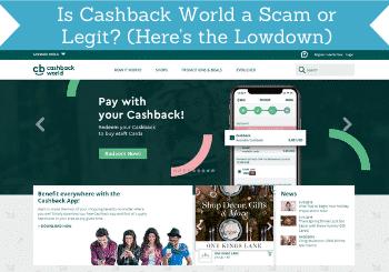 is cashback world a scam header