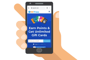 payprizes mobile site