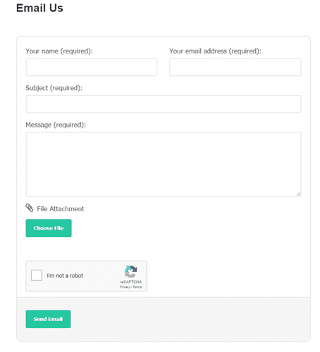 slidejoy contact form