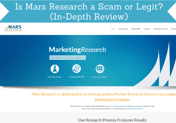 is mars research a scam header